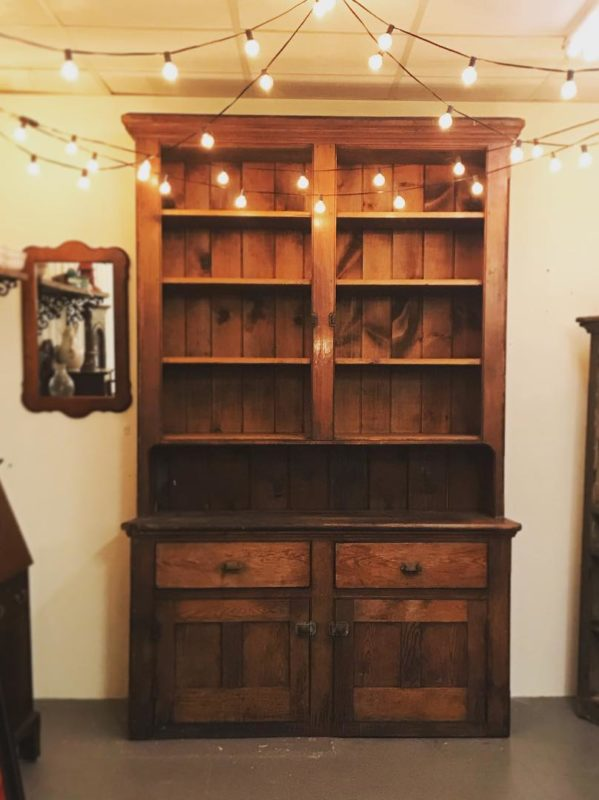 A 19th century stepback cupboard out of a Cambria County, PA
